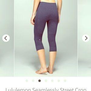lululemon seamlessly street crop